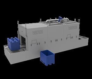 Bild von Palettenbox und Stapelbehälter Waschanlage CLT PB