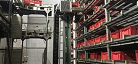 Bild für Kategorie volles Kisten und Paletten Lagersystem