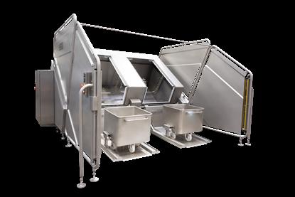 Bild von Behälterwaschanlage CLK 200 Duplex  und CLK 300 Duplex